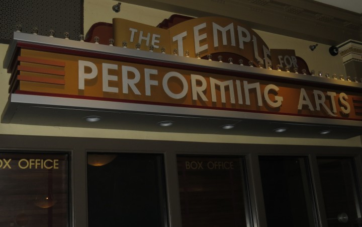 Box office for The Temple of Performing Arts